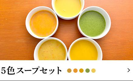 5色スープセット